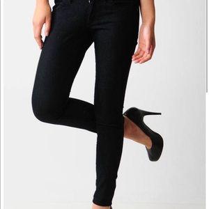 Habitual Dark Blue/Black ankle skinny size 28